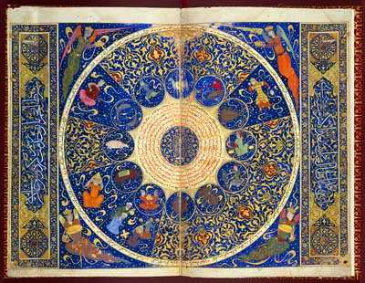 Persian Illuminated Horoscope